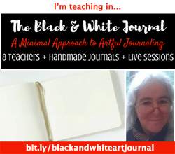 The Black & White Journal: A Minimal Approach to Artful Journaling