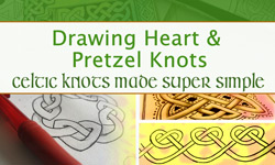 Celtic Knots Made Super Simple Intro to Interlocking Shapes : 1st of a series on Skillshare