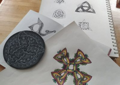 Celtic Knots Made Super Simple Class 3 Samples